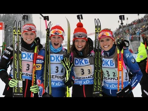 Staffel Frauen Oberhof 07 Januar 2015 Youtube