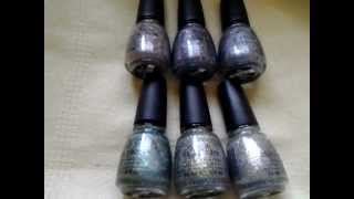 NEW China Glaze Prismatic Collection Swatches Thumbnail