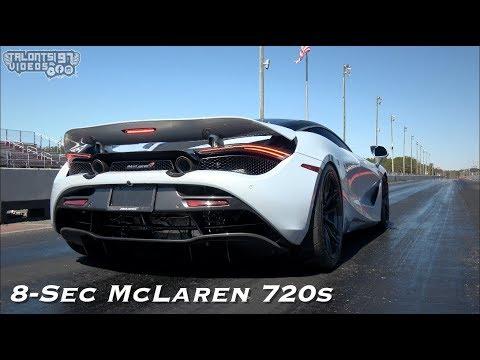 World's Fastest McLaren 720S Covers Quarter Mile In 8.9 Seconds