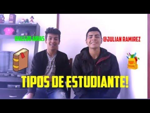Tipos De Estudiantes l Julian Ramirez FT. Alejo Arias