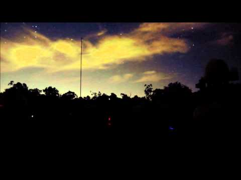 Light Cloud over a Perth Observatory Star Viewing Night - 17/4/2015