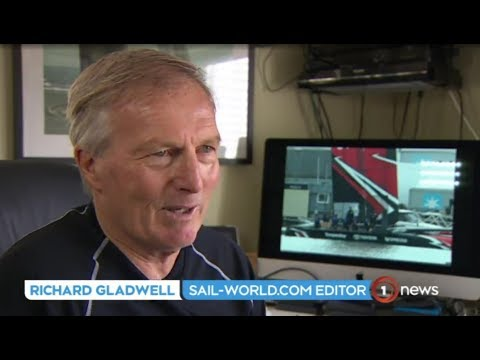 TV1 News - Cyclors discovered by Sail-World.com's Richard Gladwell