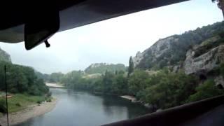 Descente de Vallon Pont d'Arc