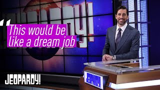 Aaron Rodgers: Jeopardy! is a Dream Come True | Guest Host Exclusive Interview | JEOPARDY!