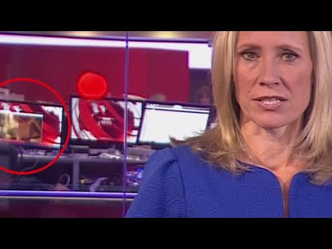 News or Nudes? X-Rated Scene Plays Behind BBC Anchor