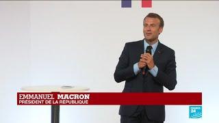 REPLAY - Emmanuel Macron dévoile son plan pour les banlieues