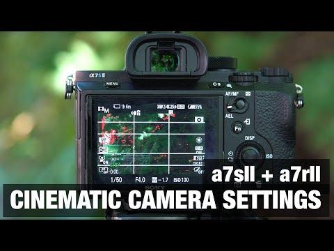 Best CINEMATIC Camera Settings 🎥 Sony a7sII + a7rII - Filmmaking Tutorial
