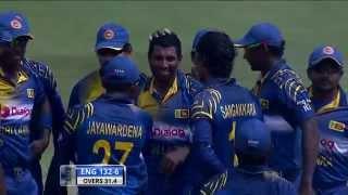 England in Sri Lanka 2014, 2nd ODI: Highlights