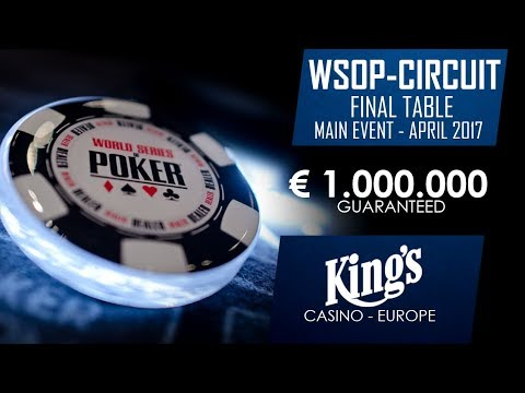 WSOPC - Main Event Final Day | April 2017