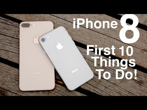 iPhone 8 (Plus): First 10 Things To Do!