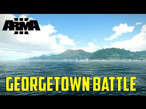 ARMA 3 Tanoa Map - Georgetown Battle
