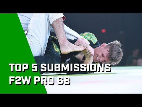 5 Gnarly Subs From Fight To Win Pro 68