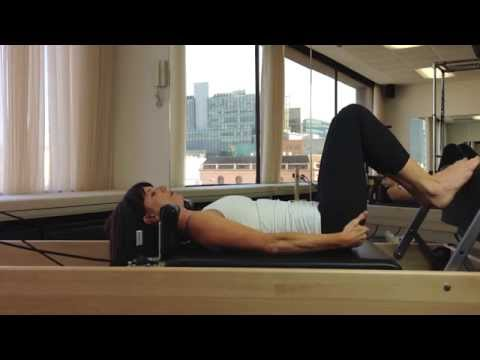 Using the reformer 2 - Pilates with Melissa Laing