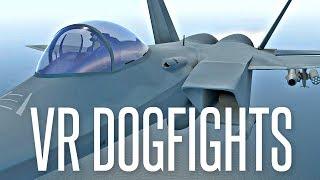 VIRTUAL REALITY DOGFIGHTS - VTOL VR Gameplay