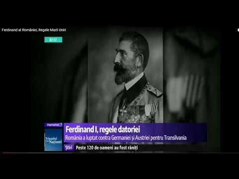 Ferdinand al României, Regele Marii Uniri