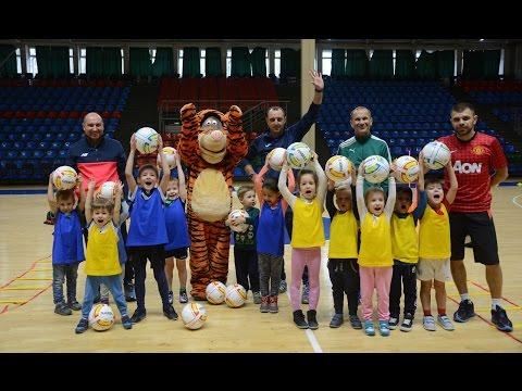 Детская школа Ростов-Дон: первая тренировка спортзал Экспресс