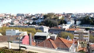 Lisbon サン・ペドロ・デ・アルカンタラ展望台