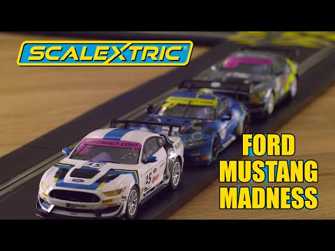 SCALEXTRIC |  FORD MUSTANG MADNESS and more!
