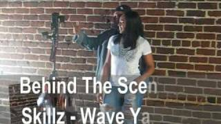 behind the scenes Skillz- wave ya hands (Marvel Vision)