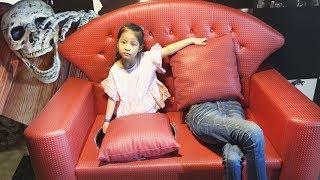 살아있는 유명인들이 엄청 많아요!! 서은이의 얼라이브 스타 체험 테마파크 트릭아이 Alive Star Museum for Kids