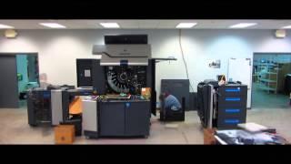 DataMart Direct's HP Indigo 7600 Installation