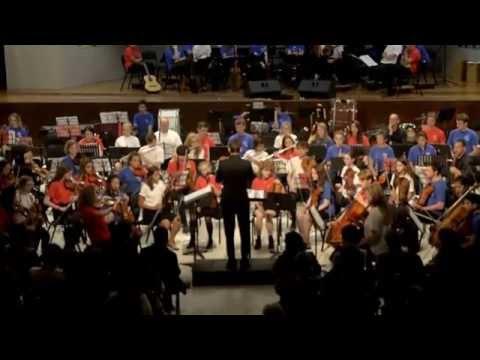 Orquesta HARINGEY YOUNG MUSICIANS en concierto 2015. Part  8