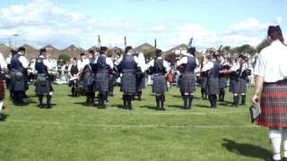 Dumfries and Galloway Constabulary Pipe Band, Inverclyde 2009
