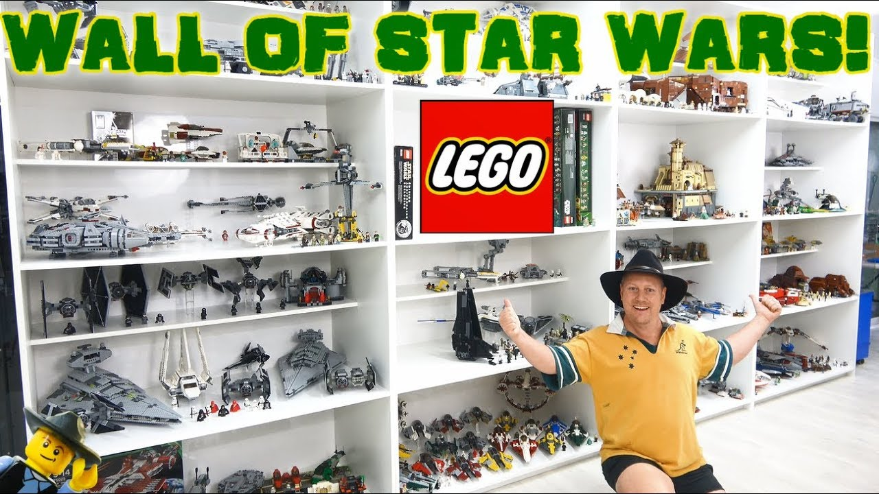 huge lego star wars collection update  youtube
