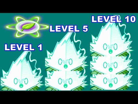Fila-mint Pvz 2 Level 1-5-10 Max Level in Plants vs. Zombies 2: Gameplay 2018