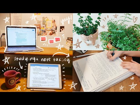 College Vlog: IPad Studying, Online Classes, & Quarantine Struggles *study Vlog*