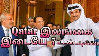 Seven agreements between Sri Lanka and Qatar - Maithripu Peru Reception