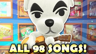 🎸 K.K. Slider Sings ALL 98 SONGS In Animal Crossing New Horizons!