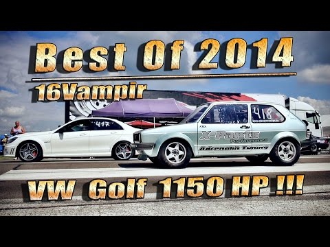 Fastest VW Golf in the world Best Of 2014!