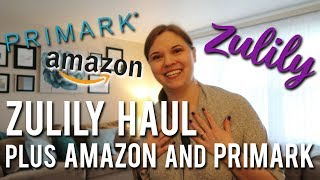SHOPPING HAUL | 🛍️ Zulily, Primark, Amazon