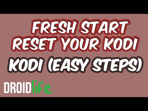 How to reset your Kodi with Fresh Install From TVaddons with Amazon Fire stick, Android Box, PC
