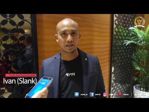 DPR RI - Ivan (Slank) : Ayoo jauhi narkoba sejak dini, narkoba itu tidak keren !