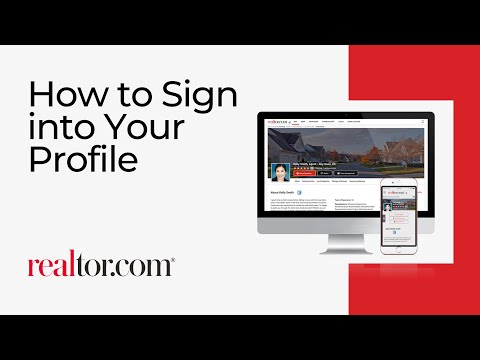 How to Sign into Your Profile