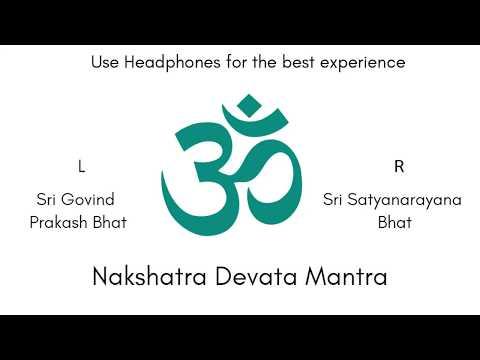 Nakshatra Devata Mantra   Sacred Vedic Chant   Audio Production by Sri K. Suresh