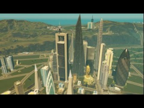 Maharlika City Cinematic | Cities: Skylines |