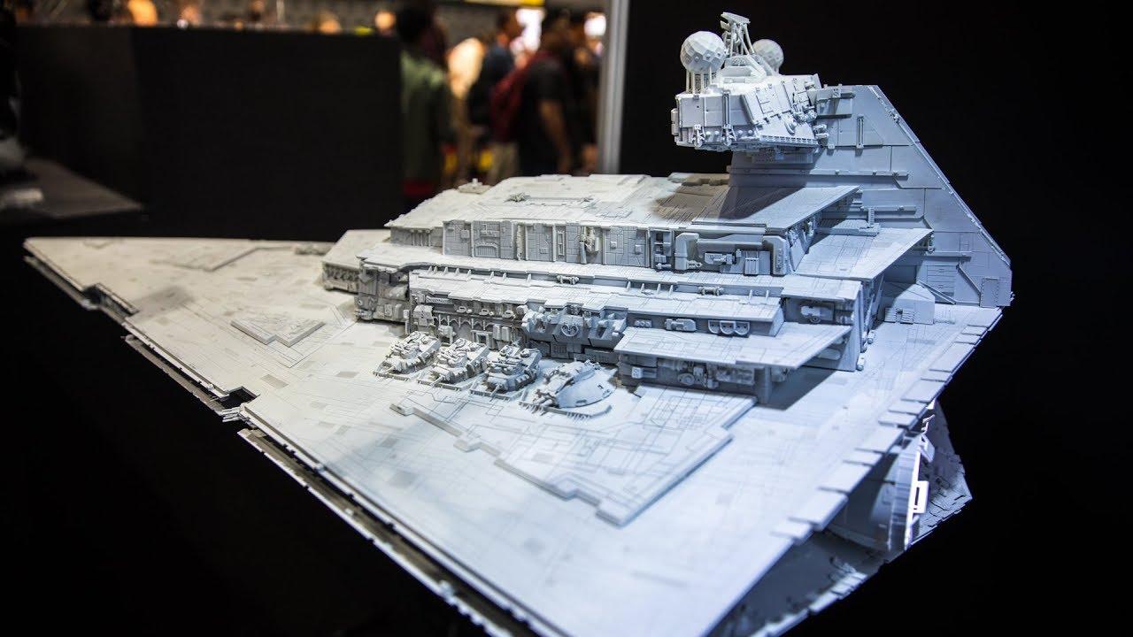 Star Wars Star Destroyer Model Replica!