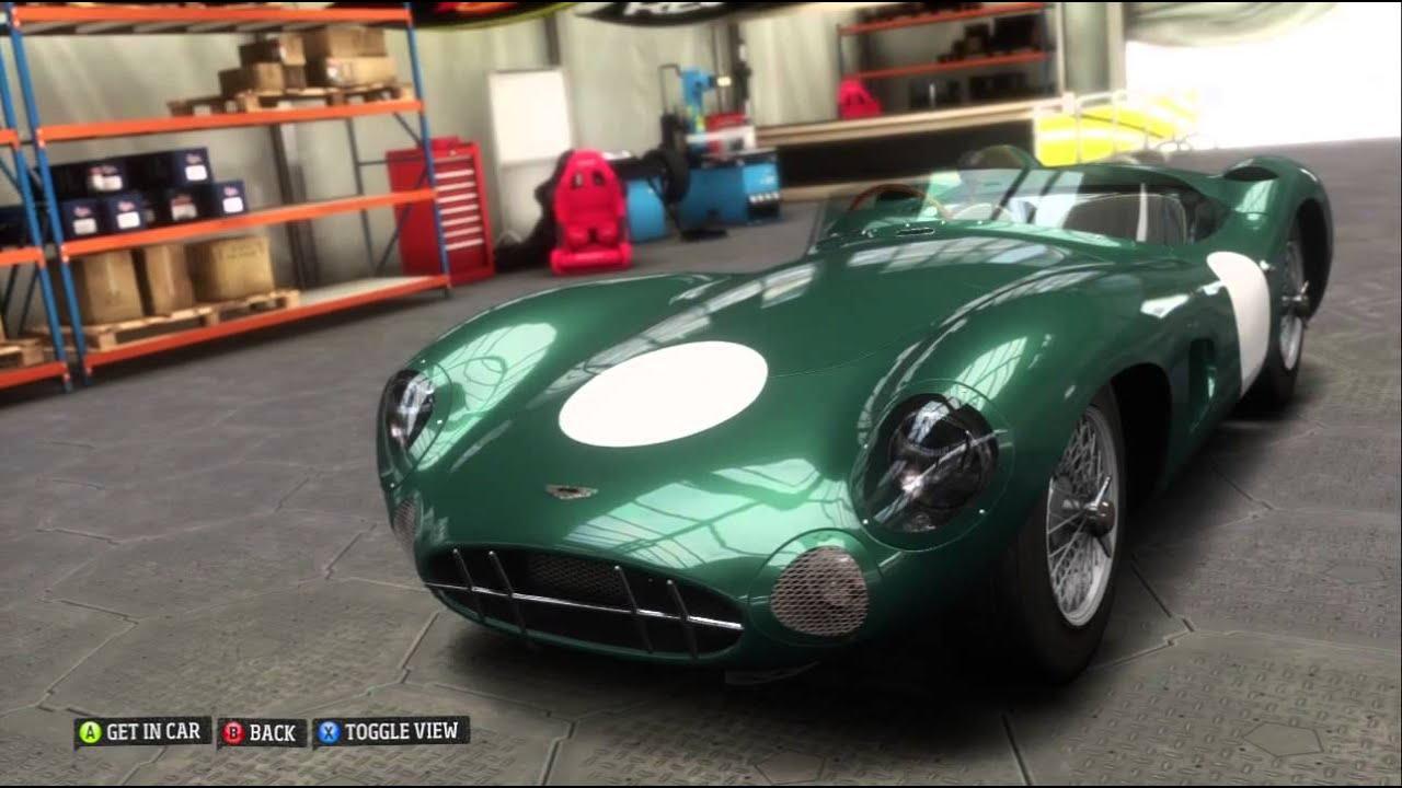 Barn Find 1959 Aston Martin Dbr1 Forza Horizon Xbox 360 720p Gameplay Youtube