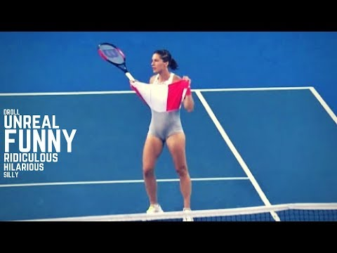 Tennis. TOP Funny Moments (2018 Edition) - Part 7