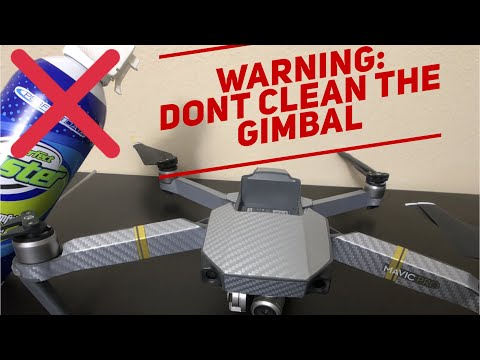 WARNING: DONT CLEAN THE GIMBAL WITHOUT WATCHING THIS (clickbait alert)