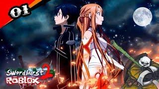 Nova Série ? Sword Art Online No Roblox!!! - Swordburst 2 [Sao] Roblox #01