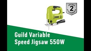 4553515 Guild Variable Speed Jigsaw   550W