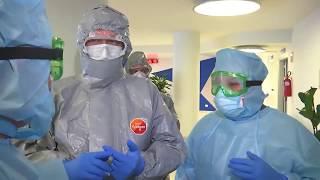 Специалисты Минобороны России на рекогносцировке в медучреждениях Бергамо