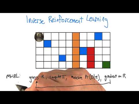 Inverse Reinforcement Learning Example