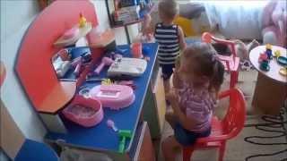 Кошмар. Первый день в детском саду .