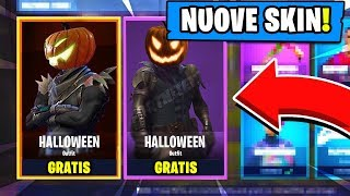 COME FORTUNE AT SKIN DI HALLOWEEN LEGGENDARIA - GRATUIT - SU FORTNITE!! (Le peau Giada di Halloween)