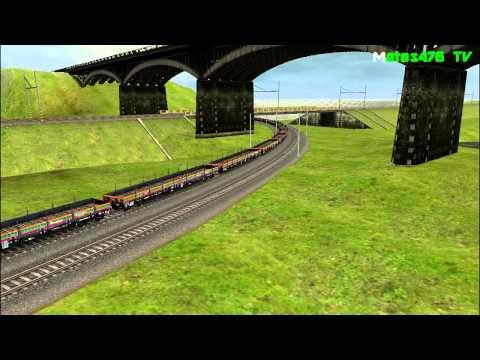CDC 363 009 + CDC 363 035 + DB 012-5 + PKP Res Na Zvlášťním Nákladnim Vlaku